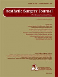 Titelseite Aesthetic Surgery Journal